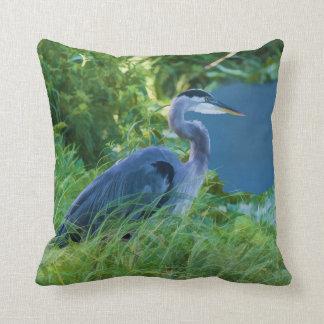 Blue Heron Throw Pillows : Wading Birds Pillows - Decorative & Throw Pillows Zazzle