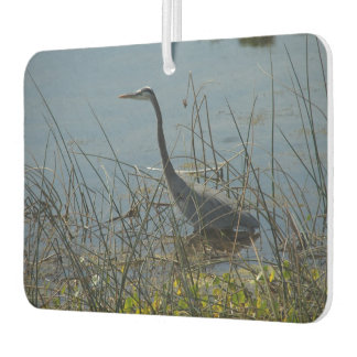 Great Blue Heron at Viera Wetlands Air Freshener