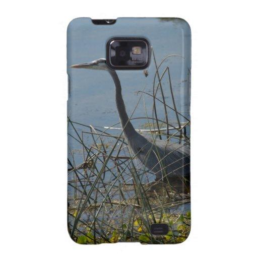 Great Blue Heron at Viera Wetlands Samsung Galaxy SII Cover