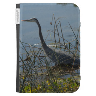 Great Blue Heron at Viera Wetlands Caseable Case Case For The Kindle