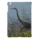Great Blue Heron at Viera Wetlands Cover For The iPad Mini