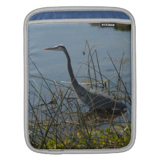 Great Blue Heron at Viera Wetlands iPad Sleeves