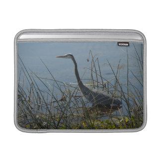 Great Blue Heron at Viera Wetlands MacBook Sleeve