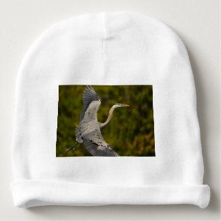 great blue heron baby beanie