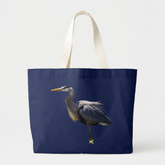 Great Blue Heron Canvas Bag