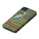 Great Blue Heron Beaded Print iPhone Case iPhone 4 Case-Mate Cases