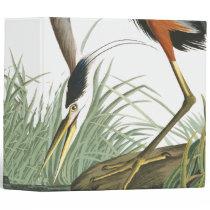 Great Blue Heron Bird Animal Wildlife Avery Binder
