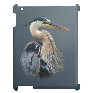 Great Blue Heron Bird iPad Cases