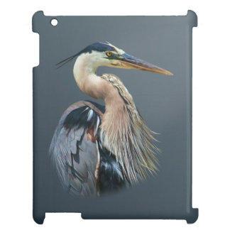 Great Blue Heron Bird iPad Cover