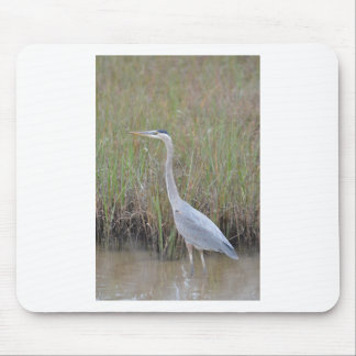 Great Blue Heron Bird Nature Mouse Pad