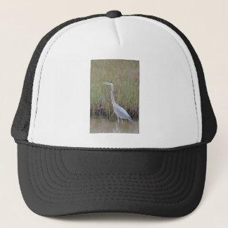 Great Blue Heron Bird Nature Trucker Hat