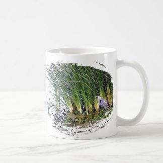 Great Blue Heron Bird Wildlife Animals Coffee Mug