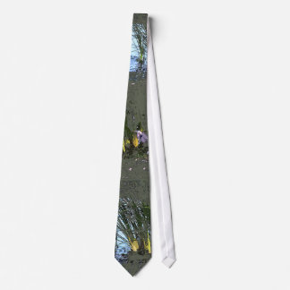 Great Blue Heron Bird Wildlife Animals Neck Tie