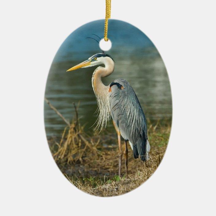 HERON Trinket Box Bird Ornament Gift *NEW*