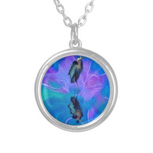 Great Blue Heron Birdlover's Wildlife Design Pendants