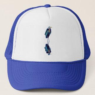Great Blue Heron Birdlover's Wildlife Design Trucker Hat