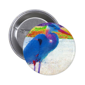 Great Blue Heron Buttons