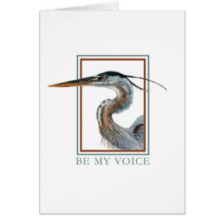 Great Blue Heron by Jane Freeman Card