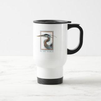 Great Blue Heron by Jane Freeman Mug