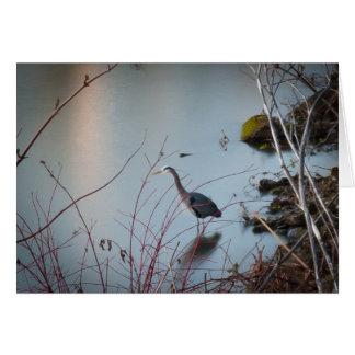 Great Blue Heron Card
