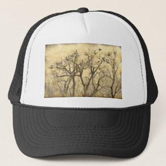 Great Blue Heron Colonies Fine Art Trucker Hat
