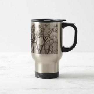 Great Blue Heron Colonies Travel Mug