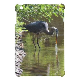 Great Blue Heron Drinking IPad Mini Case