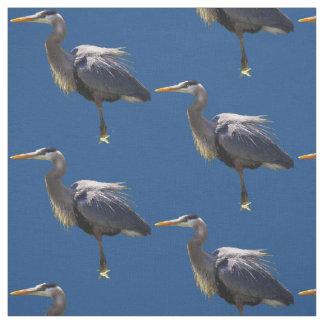 Great Blue Heron Fabric
