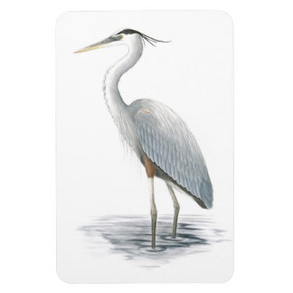 Great Blue Heron Flexi Magnet