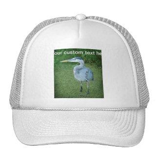 Great Blue Heron - Florida Water Birds Trucker Hat