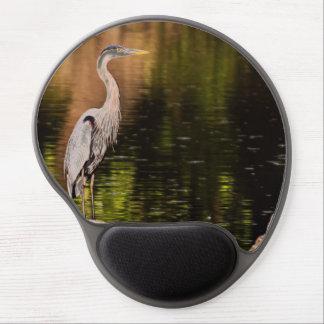 Great Blue Heron Gel Mouse Mats