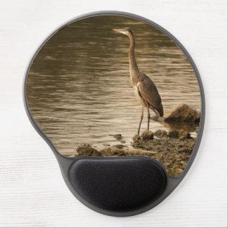 Great Blue Heron Gel Mousepad