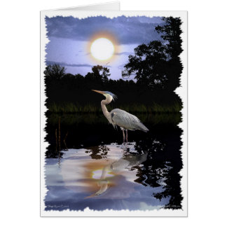 GREAT BLUE HERON Greeting Cards & Note Cards