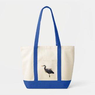 Great Blue Heron Impulse Tote Bag