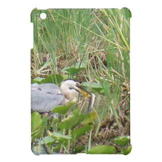 Great Blue Heron Cover For The iPad Mini