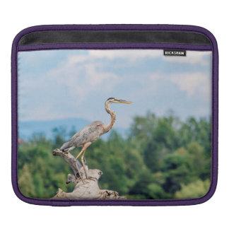 Great Blue Heron iPad Sleeve
