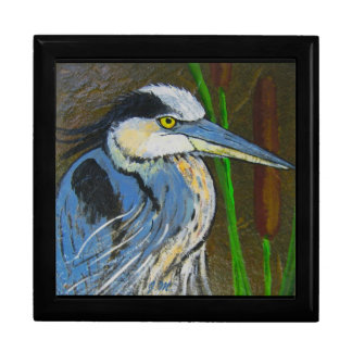 Great Blue Heron Jewelry Box