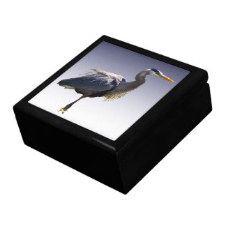 Great Blue Heron Jewelry Boxes