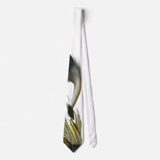 Great Blue Heron, John James Audubon Fine Neck Tie