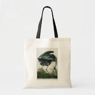 Great Blue Heron, John James Audubon Tote Bag