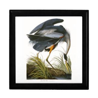 Great Blue Heron, John James Audubon Trinket Boxes