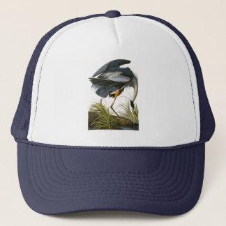 Great Blue Heron, John James Audubon Trucker Hat