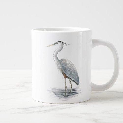 Great Blue Heron Jumbo Mug
