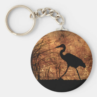 Great Blue Heron Key Chains