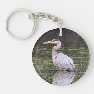 Great Blue Heron Keychain