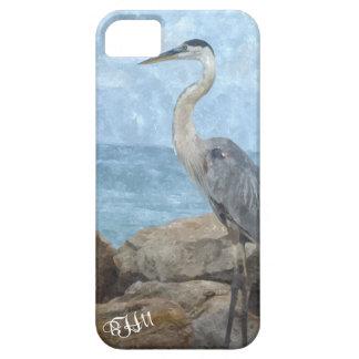 Great Blue Heron Monogram Case