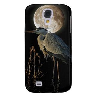 Great Blue Heron & Moon Fantasy Phone Case HTC Vivid / Raider 4G Case