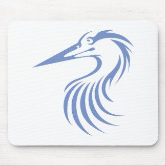 Great Blue Heron Mousepads