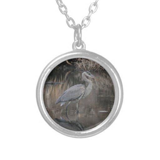 Great Blue Heron Pendants