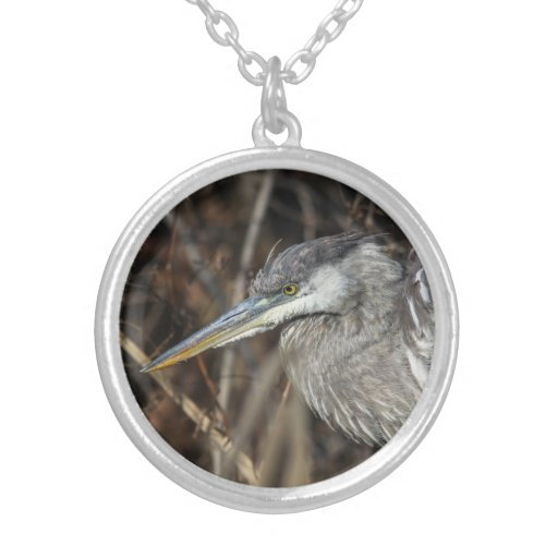 Great Blue Heron Necklace